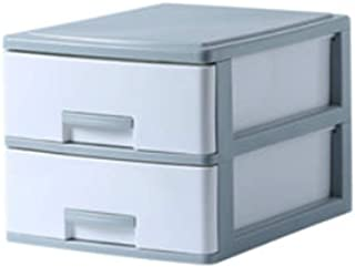 LSZ Boîte de Rangement de Bureau en Plastique tiroir classeur Bureau classeur Fournitures Rack Simple boîte de Stockage de...