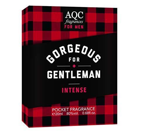 Aquarius - Gorgeous For Gentleman Intense Fragrance Pocket