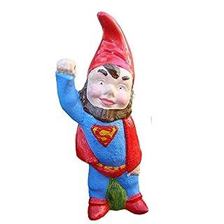 GARDEN SUPER GNOME PIXIE SUPERMAN