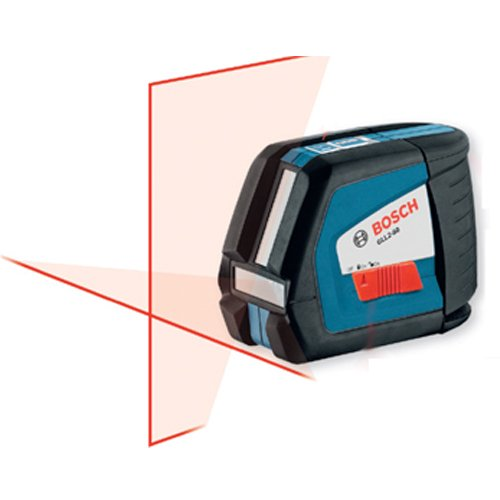 Bosch GLL2-50 Self-Leveling Crossline Laser with Pulse -