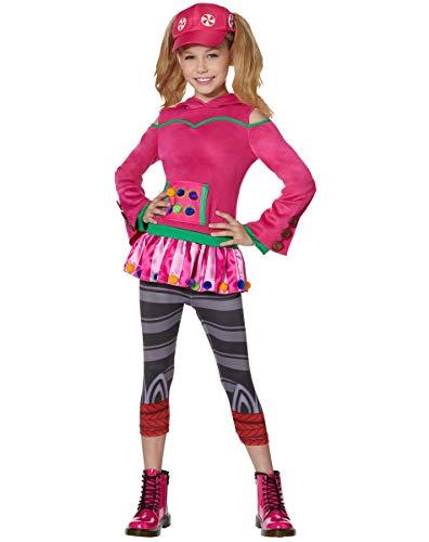 Spirit Halloween Kids Zoey Fortnite Costume   Officially Licensed - L