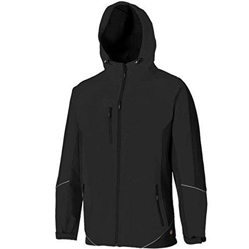Dickies zweifarbige Softshell Jacke schwarz BK 3XL, JW7010