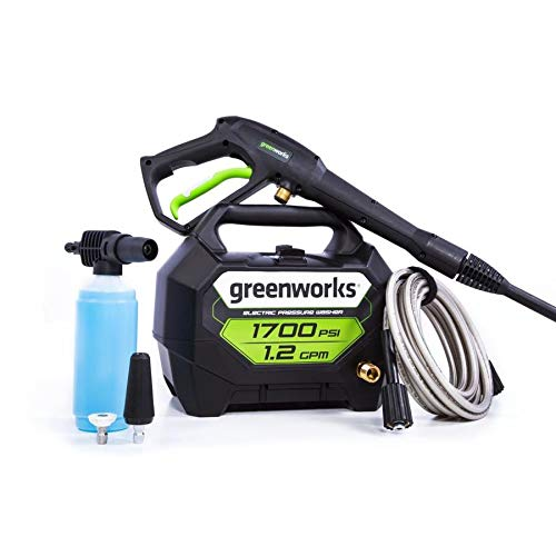 Greenworks 1700 PSI 1.2-Gallon-GPM Cold Water Electric Pressure Washer