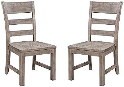 Amazon.com: East West Juego de silla de comedor Mueble con ...