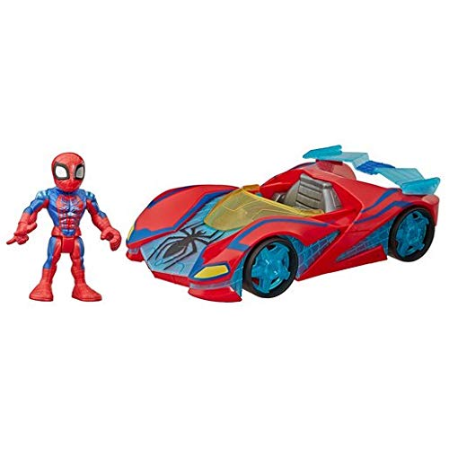 Hasbro- Mega Mighties Avengers Spiderman Web Racer (E7932ES0