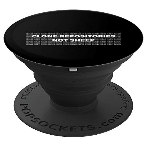 Funny Programmer Quote For Software Developer Gift PopSockets Grip and Stand for Phones and Tablets