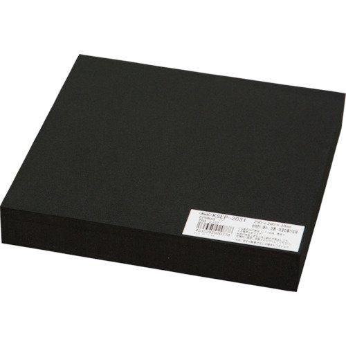 光 EPDMスポンジ 黒 200×200×30㎜ KSEP-2031