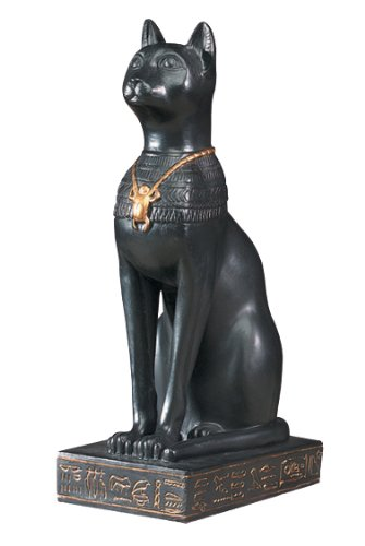 Pacific Trading - Estatua de Gato basteto Egipcio 5070