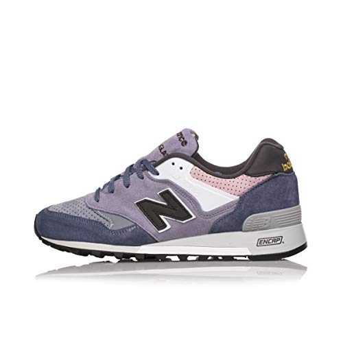 New Balance 577 MADE IN ENGLAND YEAR OF THE RAT M577YOR BLUE WHITE PINK (US 11 - Blue)