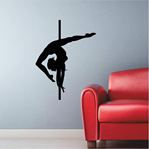 wuyyii Muurstickers Danspaal Dansende Striptease Decor Vinyl Stickers Gym Home Decor Interieur Ontwerp Muren