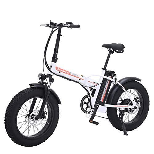 Electric Bicycle 48V 500W Bicicleta Eléctrica Eléctrico Bicicleta de Montaña 20 Pulgadas...