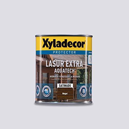 Xyladecor Lasur Extra Satin Aquatech für Holz Nussbaum 750 ml