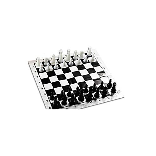Ajedrez Plegable MagnéTico Junta Juego De Plástico De Chessman De Chess International Chess Box Cargando Ajedrez Mini Portátil Juegos De Mesa Internacional Ajedrez Ajedrez Plegable MagnéTico Junta