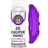 ERA Paints Purple Brake Caliper Paint With Omni-Curing Catalyst Technology - 2K Aerosol Glossy Finish High Temp Resistance And Extreme Durability Against Color Fade And Chemicals Like Brake Fluid