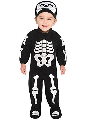 Taille Bébé Costume Squelette Halloween