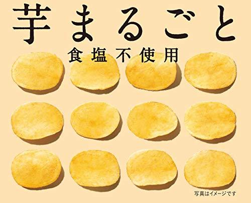 湖池屋KOIKEYAPridePOTATO芋まるごと食塩不使用60g×12袋