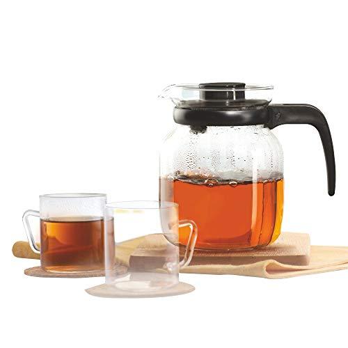 Borosil - Classic Tea Set, 7-Pieces mugs 190ml and carafe 1000ml