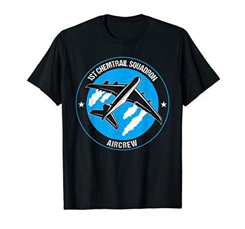Chemtrail Squardon Aircrew - Ultimatives Piloten Geschenk T-Shirt
