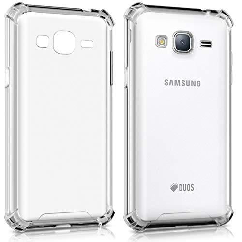 Capinha Silicone Transparente Antichoque Samsung J7 Metal J710