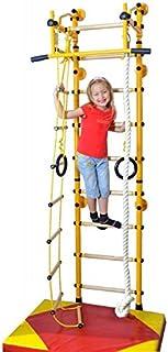 NiroSport FitTop M2 HS klättringsutrustning grossvägg tävlingsvägg barnsportutrustning hemsportutrustning med träriser och...