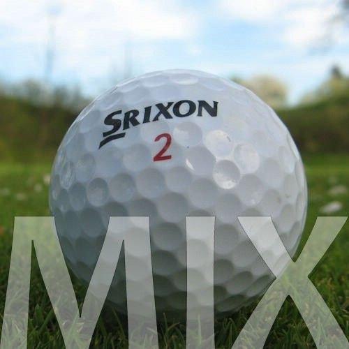 50 SRIXON MIX PELOTAS DE GOLF RECUPERADAS / LAKE BALLS - CALIDAD AAA / AA (A / B GRADE)