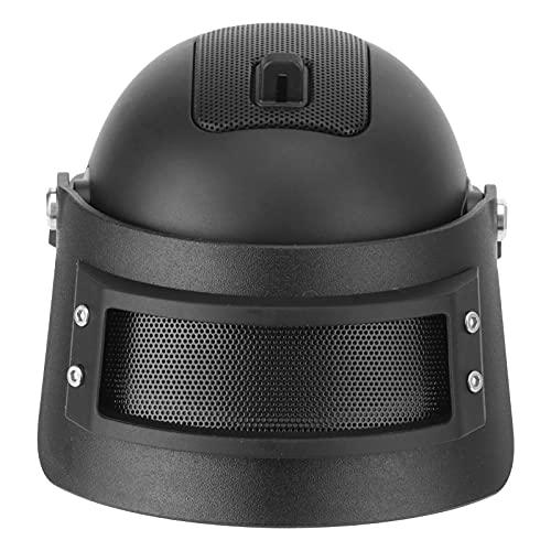 Altavoz de Audio USB Bluetooth Altavoces Bluetooth portátiles Altavoces de Escritorio con alimentación Barra de Sonido pequeña portátil Altavoz de subwoofer inalámbrico portátil con Forma de Casco