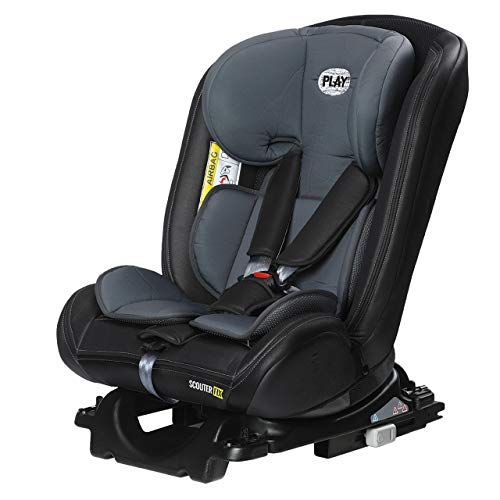 Play Scouter Fix 30200 307 - Silla de coche, grupo 0/1/2/3, Color Pearl
