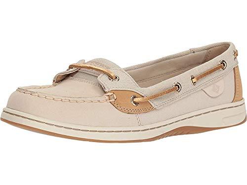 Sperry Women's Angelfish Boat Shoe, Oat, 11 M US