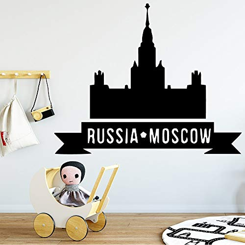 Zhuzhuwen Olifant Muurstickers Kwekerij Spelletjes, Moskou S Zelfklevende Thuis M, Studio Sticker Kantoor Muursticker Vinyl
