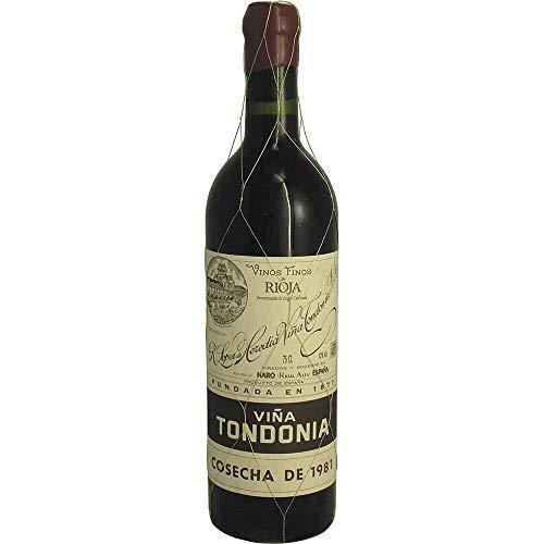 Vina Tondonia Gran Reserva tin 1981 Rioja Gran Reserva DO Rotwein trocken Lopez de Heredia Vina Tondonia Spanien 750ml-Fl (504.00€/L)