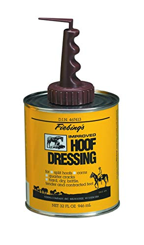 Fiebing's Hoof Dressing with Applicator - Helps Maintain Healthy Horse Hooves and Feet - 32 oz