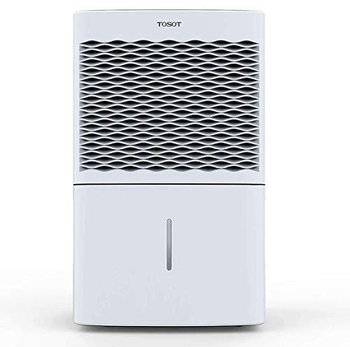 TOSOT Chalet mobiler Luftentfeuchter Keller (max.20L/Tag)-Raumgröße ca. 195m³ (~30 m²), mit 4 Betriebsarten, Digitalanzeige, 24h Timer-Gegen Feuchtigkeit, Schimmel-geeignet für Räume, Schrank
