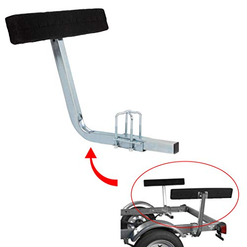 KUAFU Carpeted Boat Trailer Guide Bunk Board Guide On Board Solid & Easy Operation