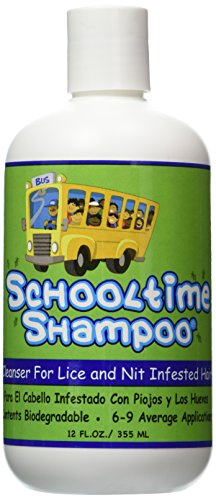 Schooltime Shampoo's Super Lice and Nit Elimination Shampoo...