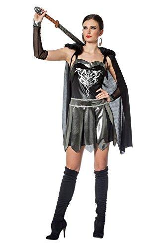 Damen Kostüm Fantasy Kriegerin Amazone Karneval Fasching Larp Gr.44
