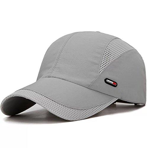XIANGUO Berretto Baseball Golf Tennis Uomo Donna Estivo Sole UV Protezione Mesh Asciugatura Veloce Lightweight Traspirante Taglia Unica Regolabile
