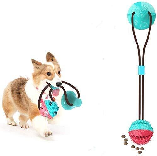 Lapeno hundespielzeug mit saugnapf,pet Toy mit saugnapf,pet Molar chew Spielzeug,Multifunktion Pet Molar Biss Spielzeug,Dog Interactive Molar kauspielzeug,pet Molar bite Toy