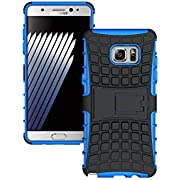 Galaxy Note 8 Case,AOFU Dual Layer Hybrid Defender [Kickstand Armor] Protective Cases Cover with Kickstand for Samsung Galaxy Note 8-Blue