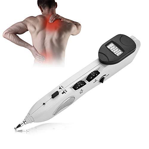 Filfeel Acupuntura Masaje Pen, Digital Electronic Acupuncture Massage Pen para aliviar el Dolor 10.8 x 4.5 x 2inch