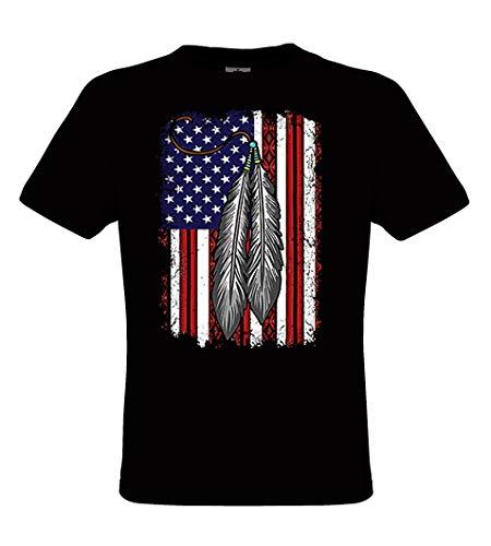 Abigails Home Native American Girl Tattoo Design Women Short Sleeve T Shirt Tees Sport Summer