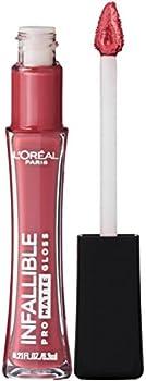 L'Oreal Paris Makeup Infallible Pro Matte Lip Gloss, 0.21 Fl. Oz.