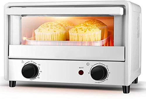 Cocina Mini tostadora Horno, 14L Aire Fryer Horno Convección Rotisserie Horno Tostadas / Horneado / Poino / Asado / Dehidrato, Temporizador de 60 minutos, 1000W