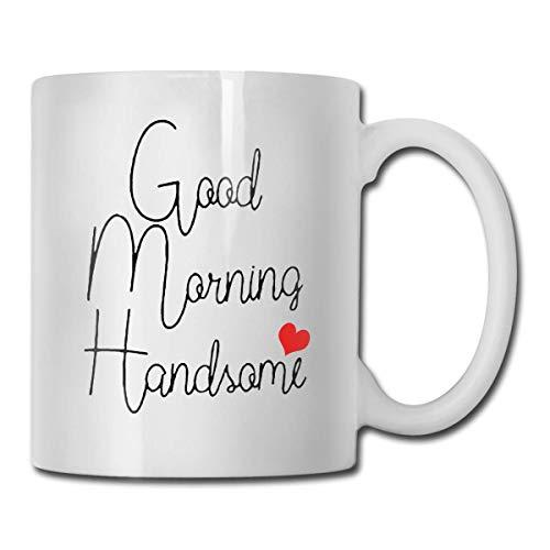 N\A Buenos días Guapo 11 onzas de café de cerámica del té