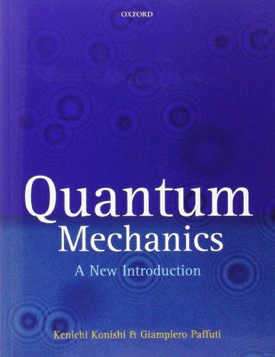 Download Quantum Mechanics: A New Introduction 0199560277