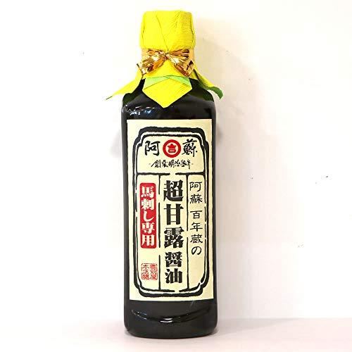 馬刺し 卸価格 専用醤油 タレ(500ml/本) 業務用・飲食店向