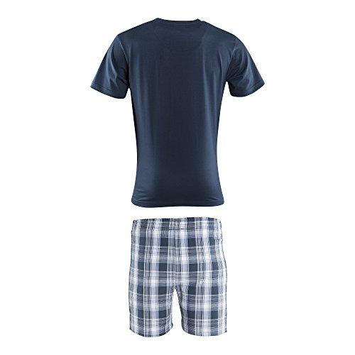 FC Schalke 04 Kinder Schlafanzug kurz, Sticker Gelsenkirchen Forever, Pigiama, Pajamas, Pijama, 睡衣, パジャマ, منامة (152)