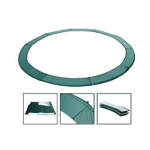 Andreas Dell Randabdeckung Federabdeckung Randschutz Schutz für Trampolin von 250 bis 460 cm (Grün, 366)