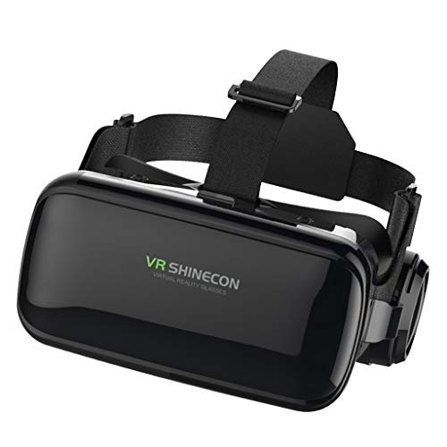 """KESOTO Fone de Ouvido de Realidade Virtual 3DGlasses VR Goggles para Android/IOS Phone 4.7-6.53"""""""