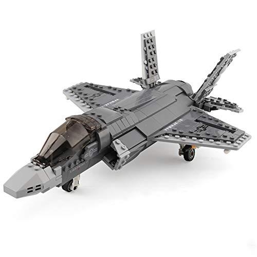 XINGBAO 06026 Military Series 646pcs The F35 Fighter Lightning II Sets Building Blocks Bricks Interlock Jet Airplane Model Building Kits Educational Toys