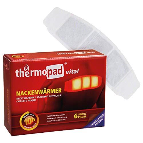 Thermopad Nackenwärmer Unisex, schwarz, One Size